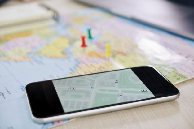 GPS smartphone supprimer adresse