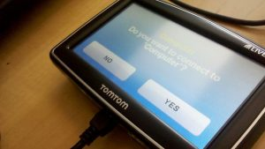 GPS TomTom sans charge allume-cigare