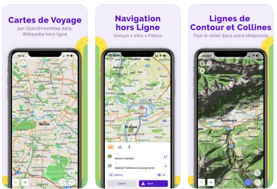 OsmAnd : application gratuite GPS randonnée