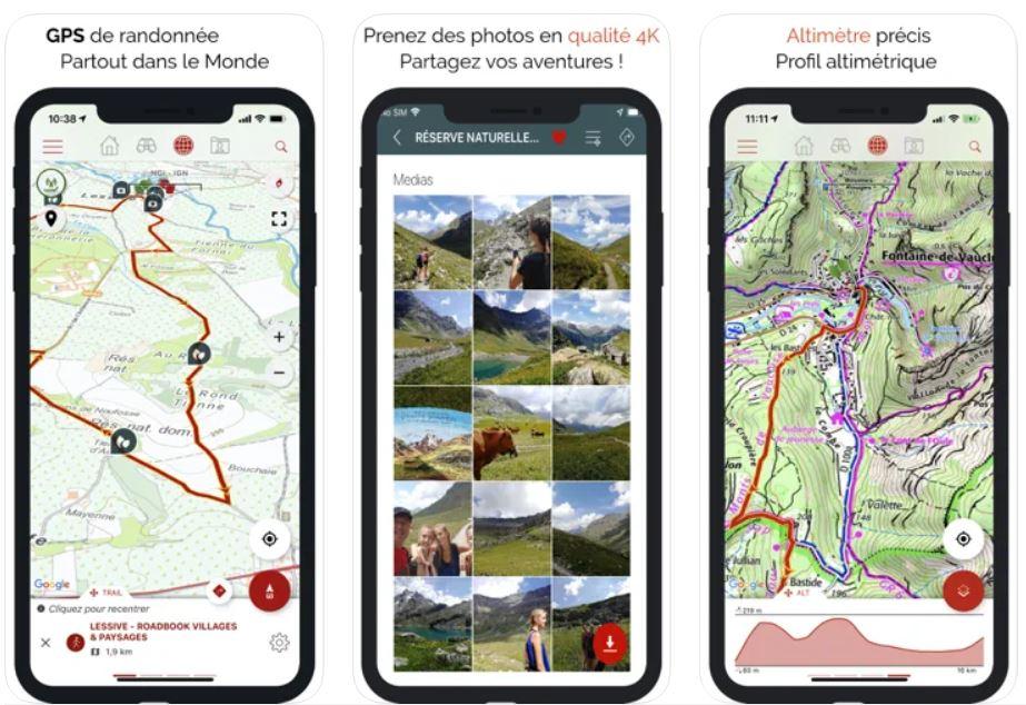 Sitytrail l'appli GPS de rando
