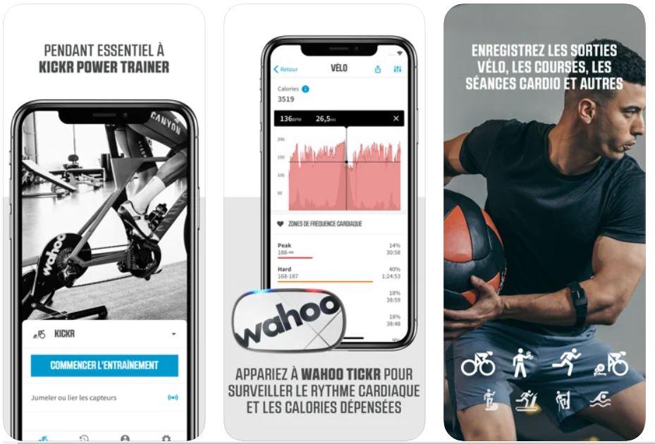 wahoo fitness appli vtt et vélo