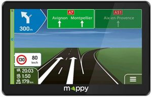 Le GPS auto Mappy Extra E738 7 pouces
